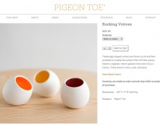 Pigeon Toe | Product Page